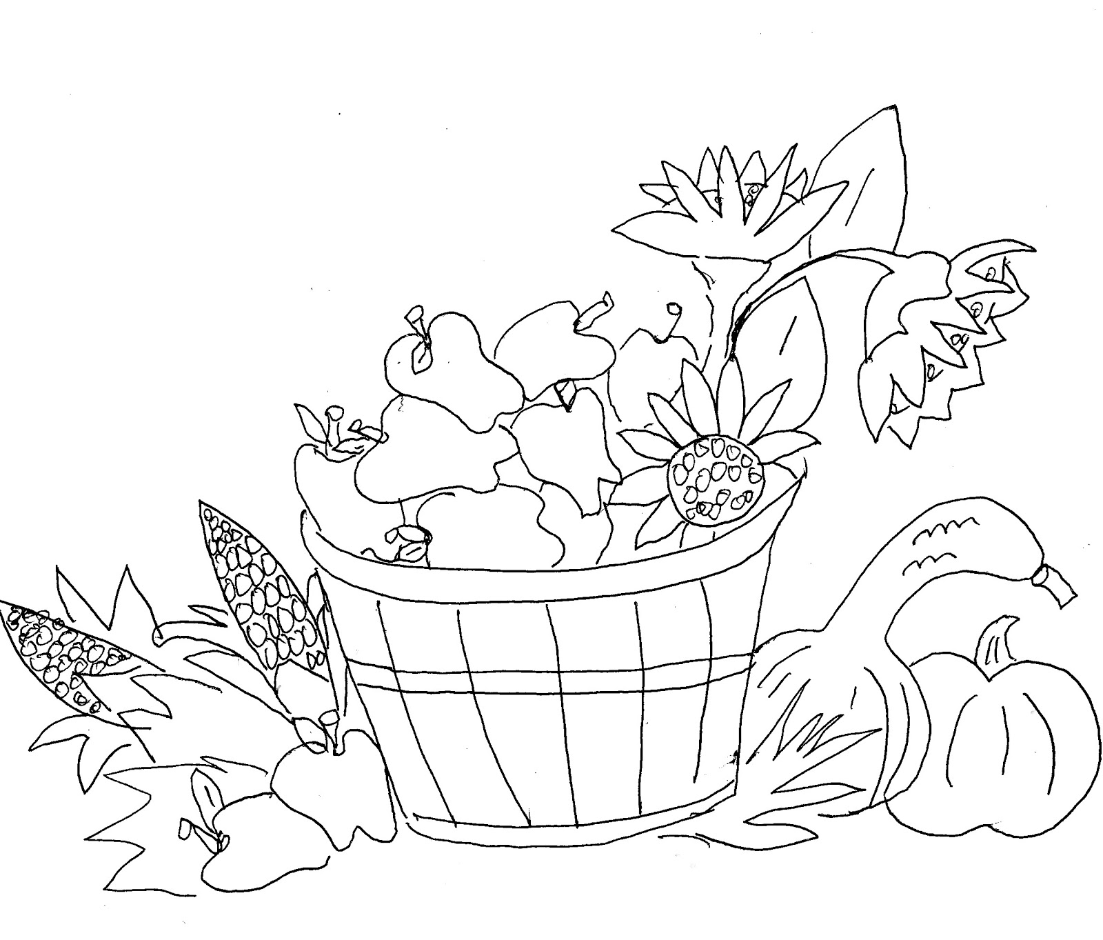 harvest coloring pages - christian images in my treasure box squirrels and leaves