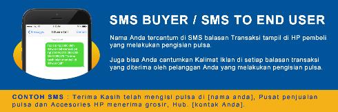 Cara Aktifkan, Edit dan Hapus SMS Buyer / End User Pembeli Niki Reload Server Pulsa Elektrik Online Termurah, Produk Lengkap, Transaksi Lancar, Saldo Deposit Aman