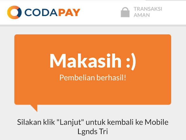Cara Top Up Diamond Mobile Legends Melalui CodaShop