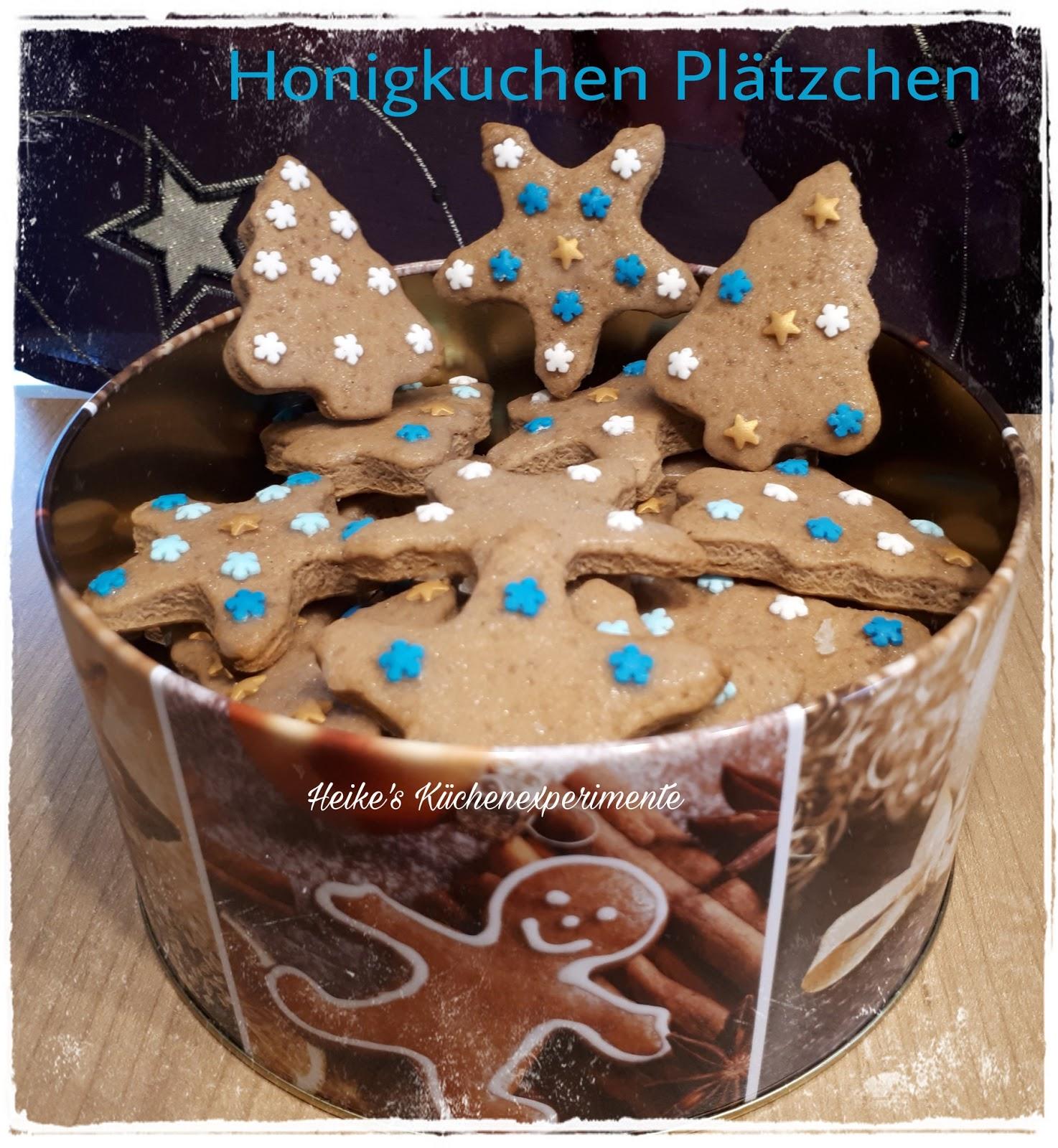 Heike 39 s k chenexperimente honigkuchen pl tzchen - Platzchen dekorieren ...