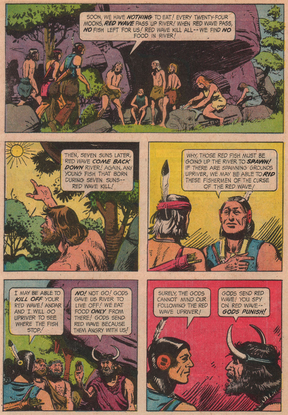 Read online Turok, Son of Stone comic -  Issue #51 - 28