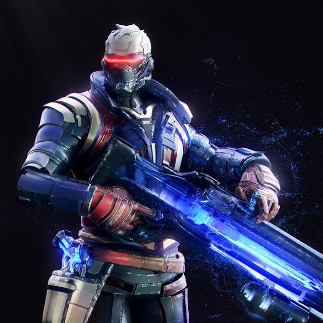 Overwatch - Soldier 76 Wallpaper Engine