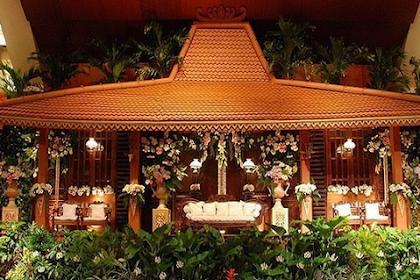 Dekorasi Pernikahan Jawa Unik
