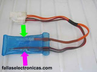 fusible térmico refrigerador lg