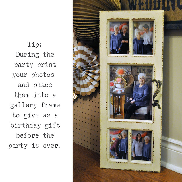 set up a photo backdrop to take photos of family and friends | Lorrie Everitt Studio