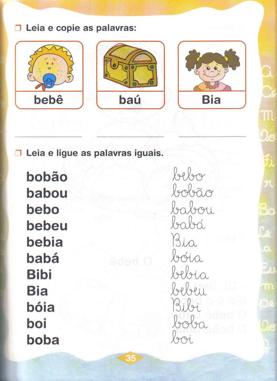 Slabas simples Ba Be Bi Bo Bu  Aprender e Brincar