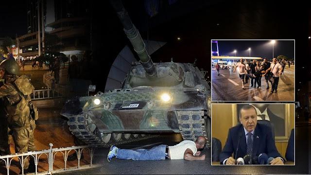 Ο Ερντογάν απαγορεύει στον στρατό να βγει από τα στρατόπεδα!