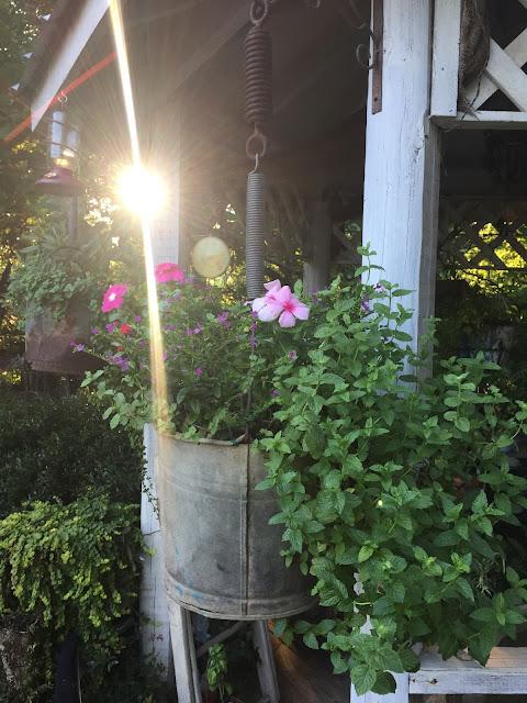 Flea Market Style garden planters
