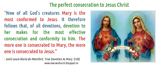 The perfect consecration to Jesus Christ