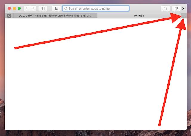 Cara Cepat Membuka Semua Tab Tertutup Di Browser Safari Pada OS Mac
