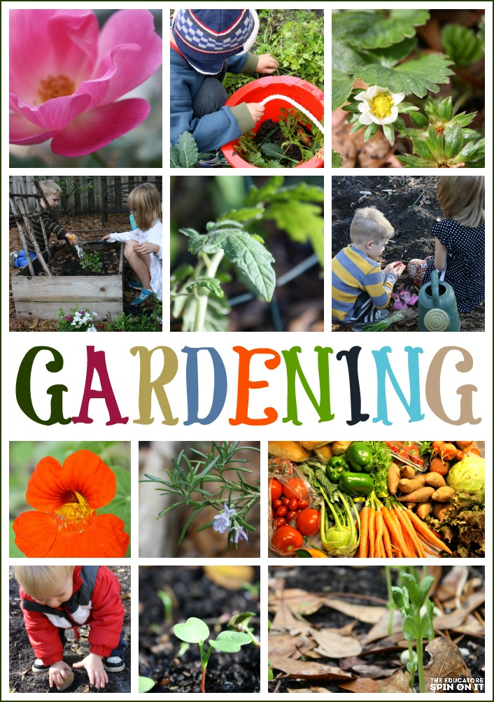 Tips for Gardening with Kids from The Educators' Spin On It