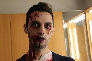 Zombie  Halloween Makeup for Men in 2016