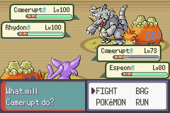 pokemon double emerald screenshot 4