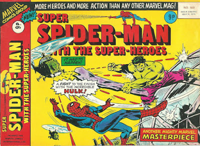 Super Spider-Man with the Super-Heroes #169, The Hulk