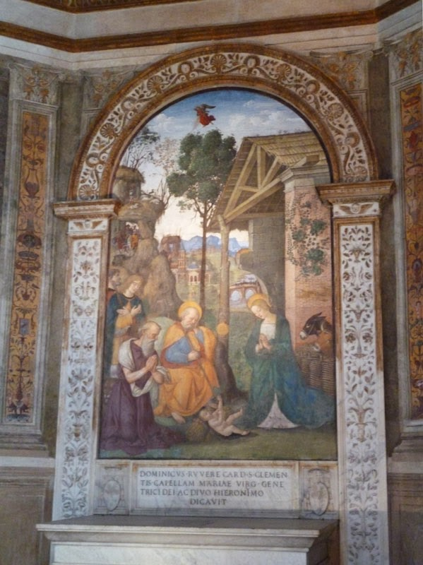 pinturicchio - Santa Maria del Popolo - como um museu!
