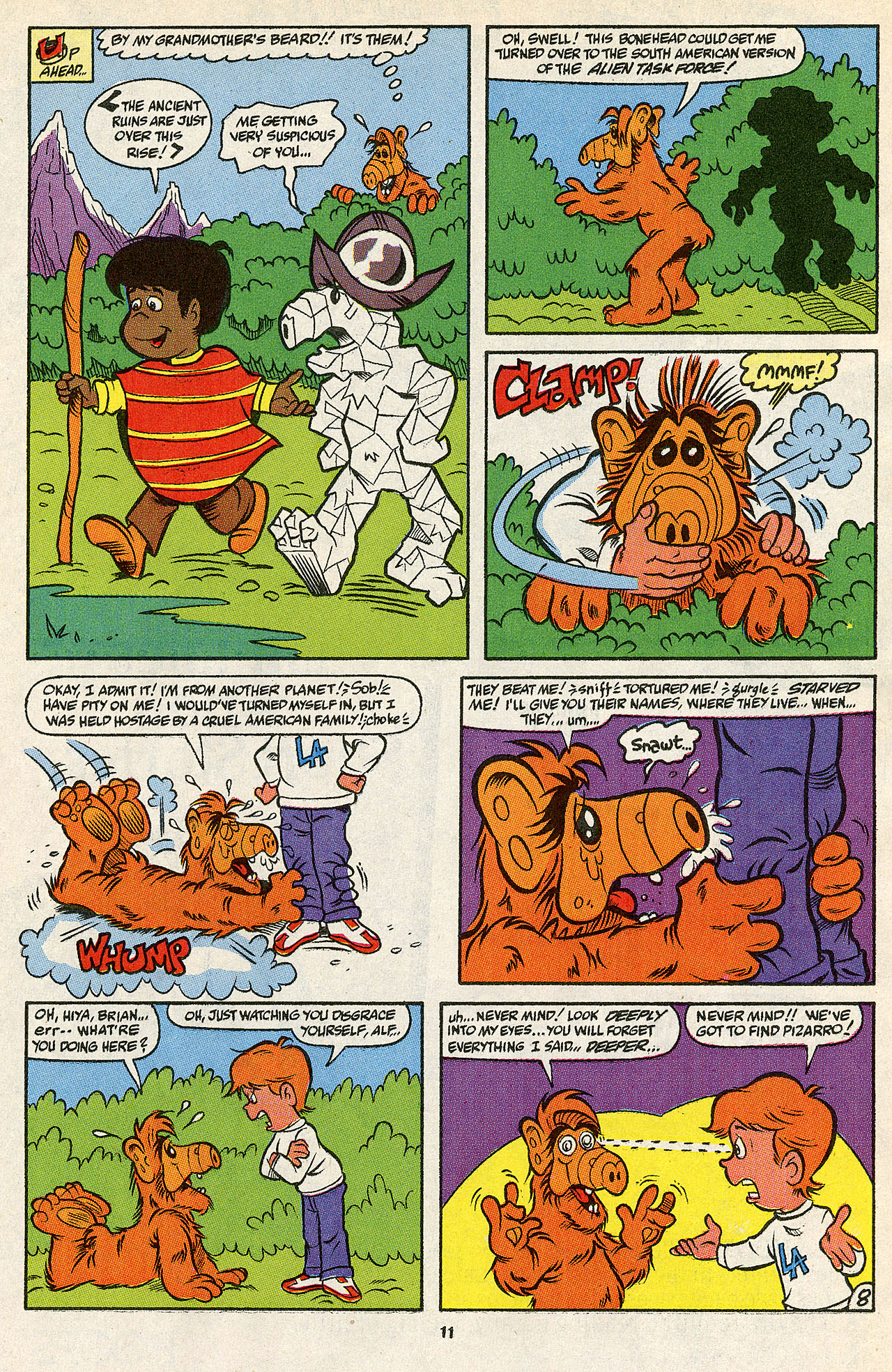 Read online ALF comic -  Issue #39 - 13