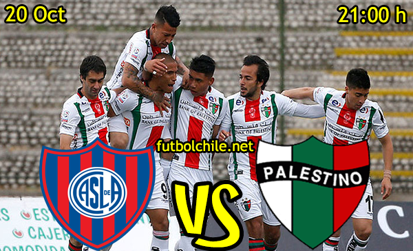 Ver stream hd youtube facebook movil android ios iphone table ipad windows mac linux resultado en vivo, online:  San Lorenzo vs Palestino