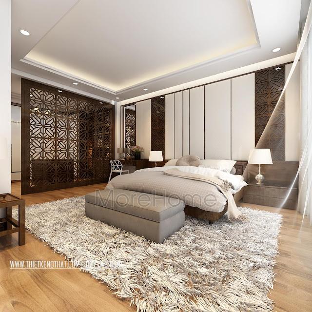 Tìm hiểu cách thiết kế trang trí phòng ngủ nhà phố đẹp 2