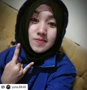 bobotoh cantik pake hijab manis banget