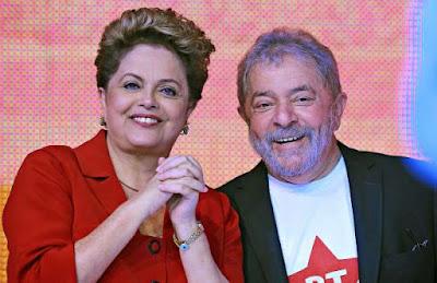 Início do 3º mandato de Lula marca queda de Dilma
