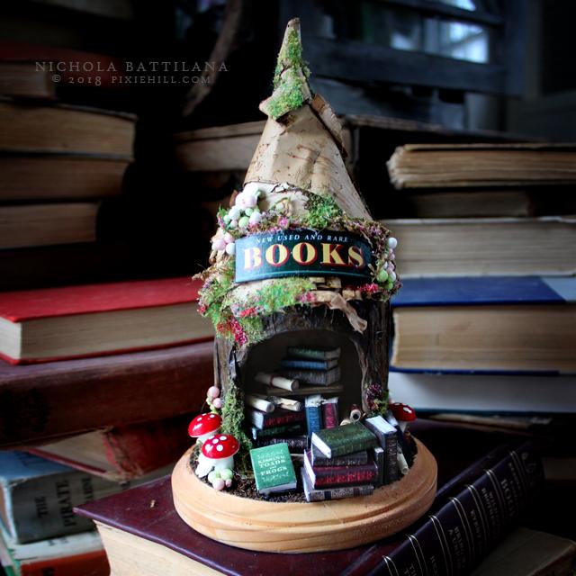 Fairy Book Nook - Nichola Battilana pixiehill.com