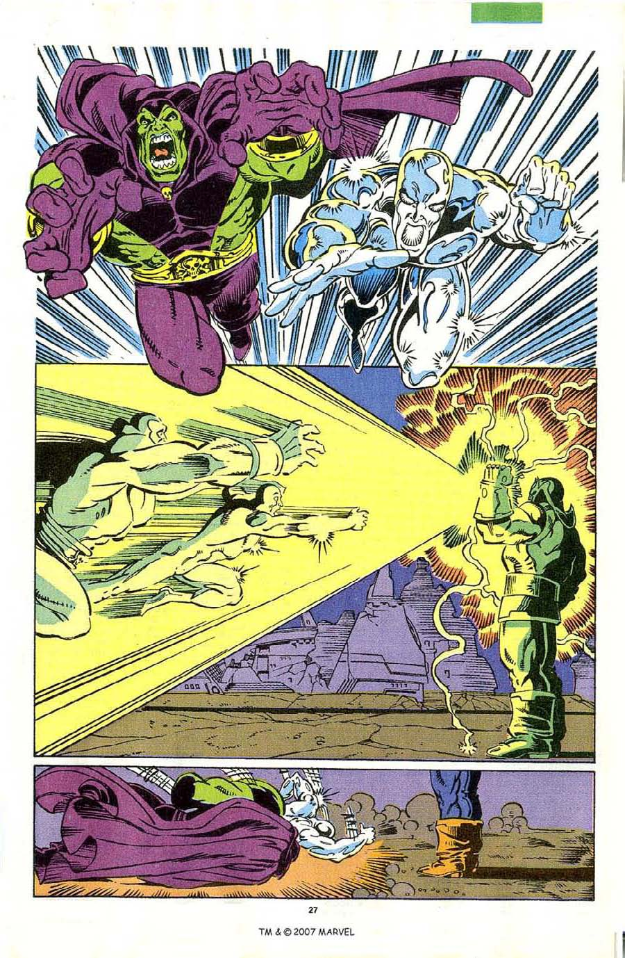 Read online Silver Surfer (1987) comic -  Issue #44 - 29