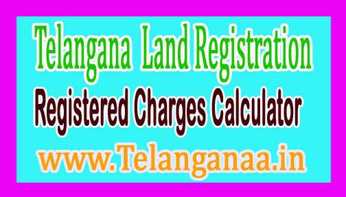 Telangana TS Land Registration Charges Calculator Online