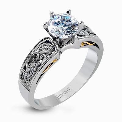 Anillos de compromiso y boda