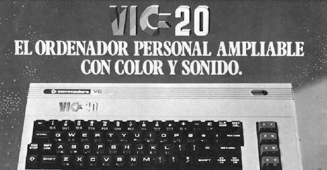 El pequeño gran hermano.... Commodore VIC 20