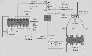 Skema Rangkaian Inverter 2000 watt