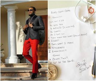 D'banj Celebrates 37th Birthday, Unveils Track List For New Album