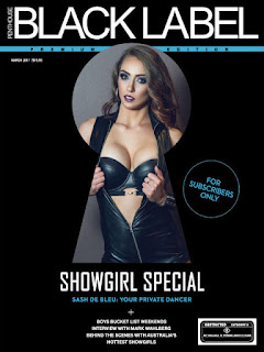 Revista Penthouse Australia Black Label - Marzo 2017 PDF Digital