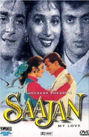 Poster Of Saajan 1991 Hindi 720p DVDRip Full Movie Download