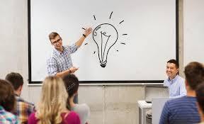 Professor ensinando