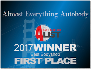 2017 San Francisco Bay Area Best Auto Body Shop