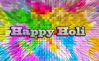 HD Holi 2017 Greetings Card.