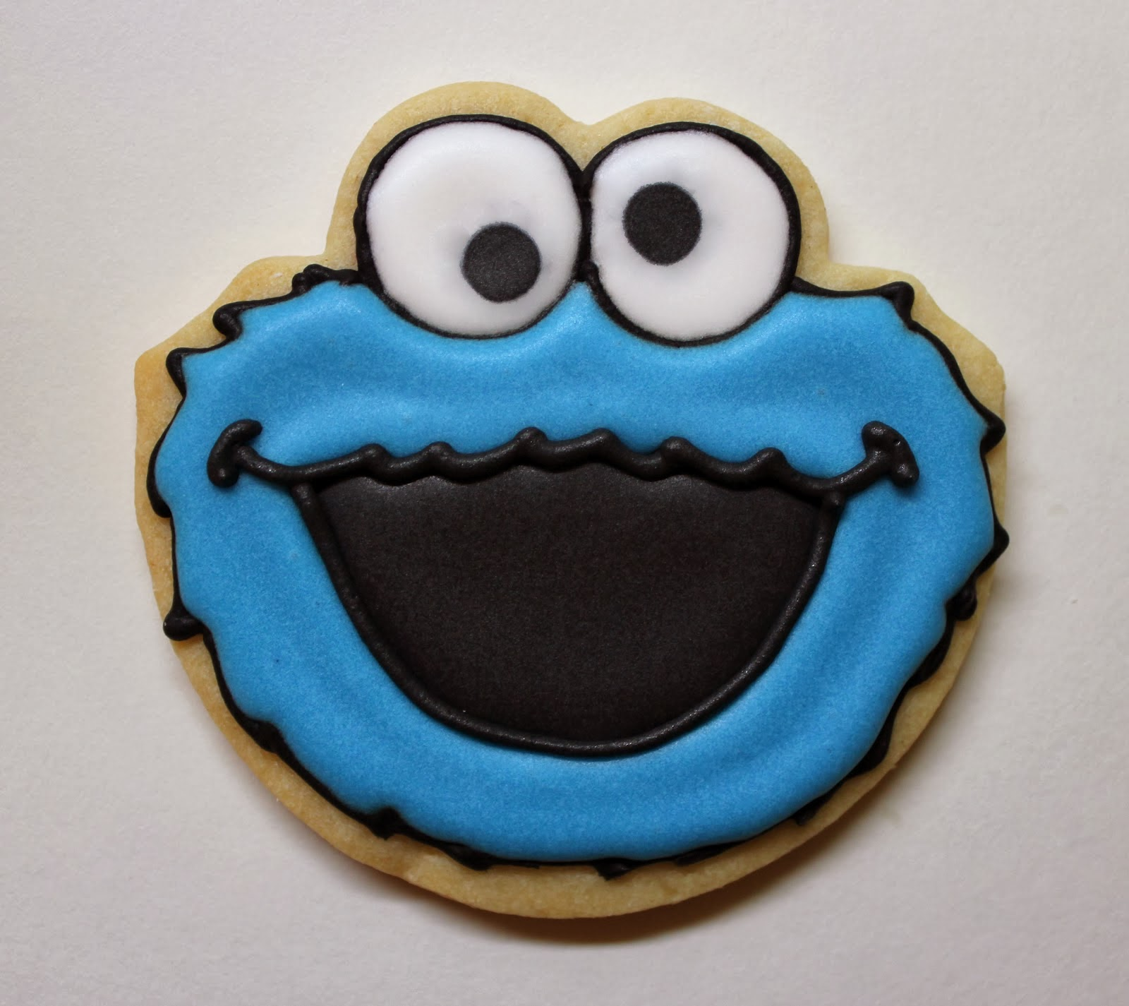 Cookie Monster First Birthday Cake
