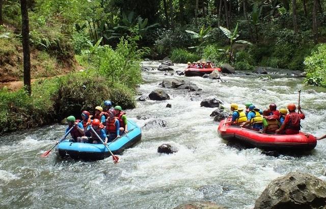 Tempat Rafting di Ciwidey Bandung Selatan