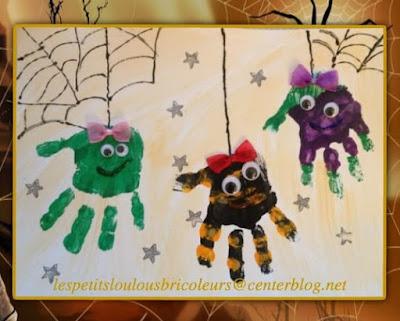 peinture araignees