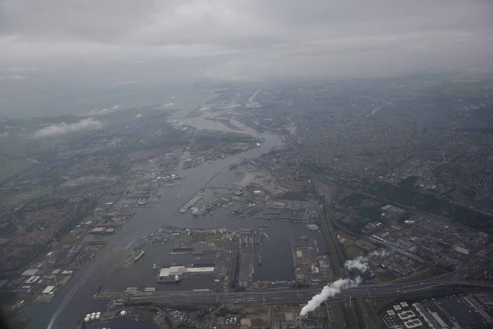 Pierwszy dzień w Holandii