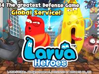 Free Download Larva Heroes: Lavengers Apk v1.6.6 Mod (Unlimited Sweets/Gold) terbaru 2017