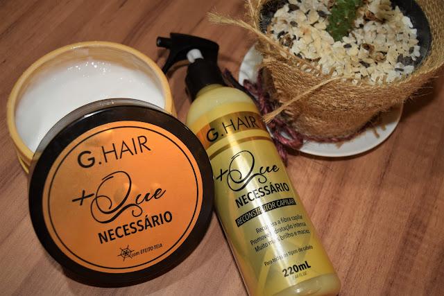 G.Hair apresenta sua nova linha para cabelos danificados e quebradiços