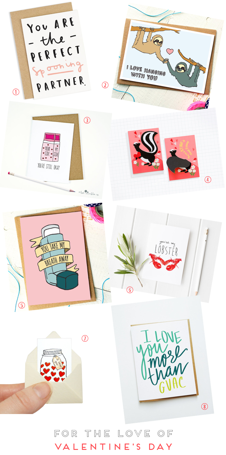 FOR THE LOVE OF VALENTINE'S DAY CARDS