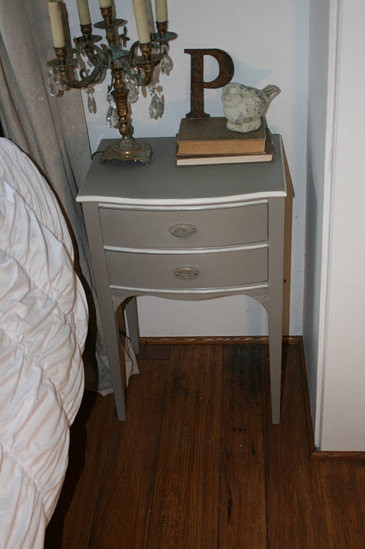 Reloved Rubbish French Linen Night Stand