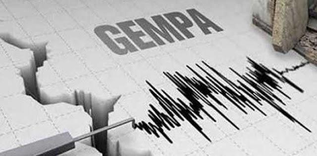 Gempa Bermagnitudo 4,7 Kembali Guncang Mamasa
