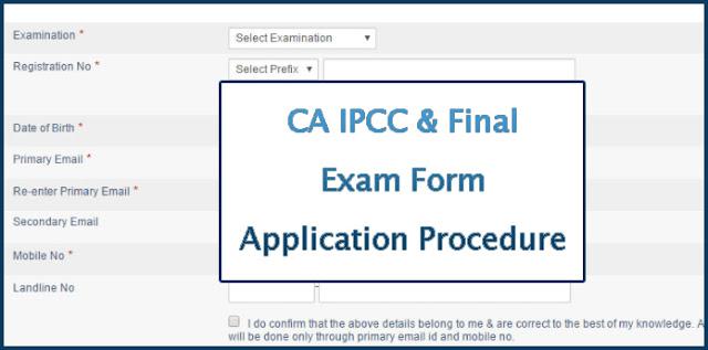 Final IPCC Exam Form