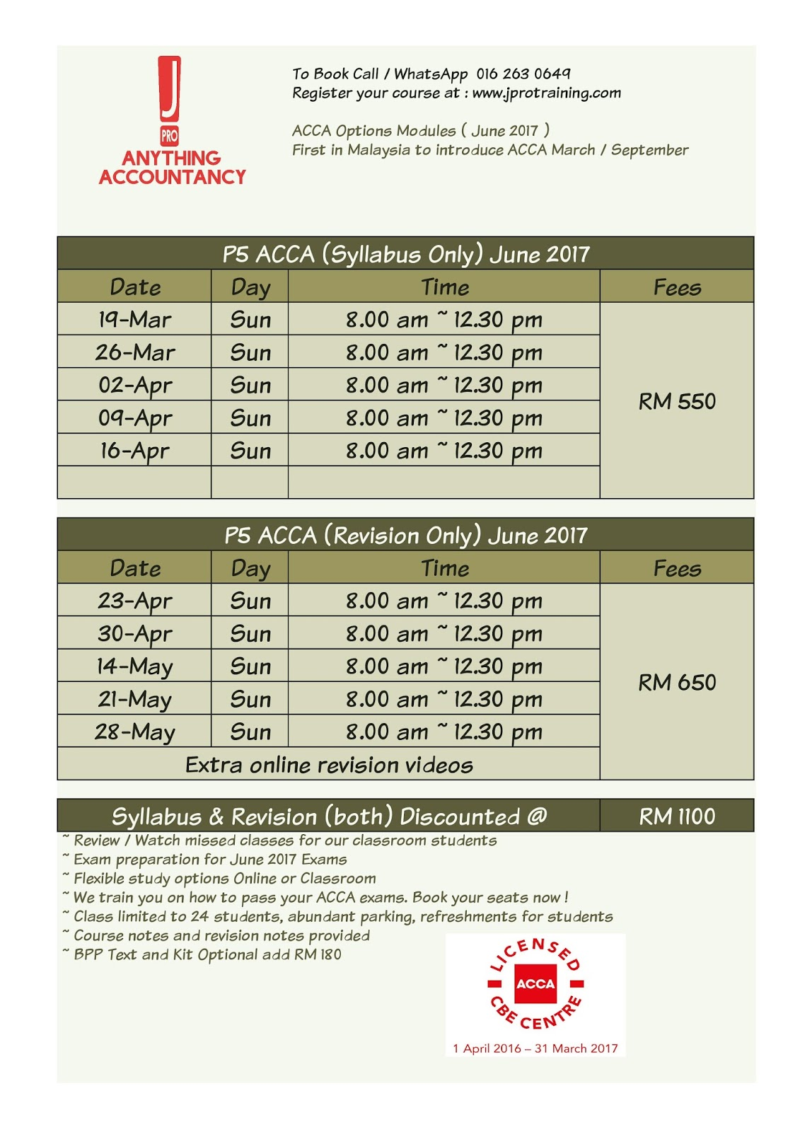 Jay's ACCA APM / ACCA AFM Discussion Room
