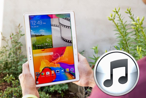 transfer iTunes movies to Galaxy Tab S