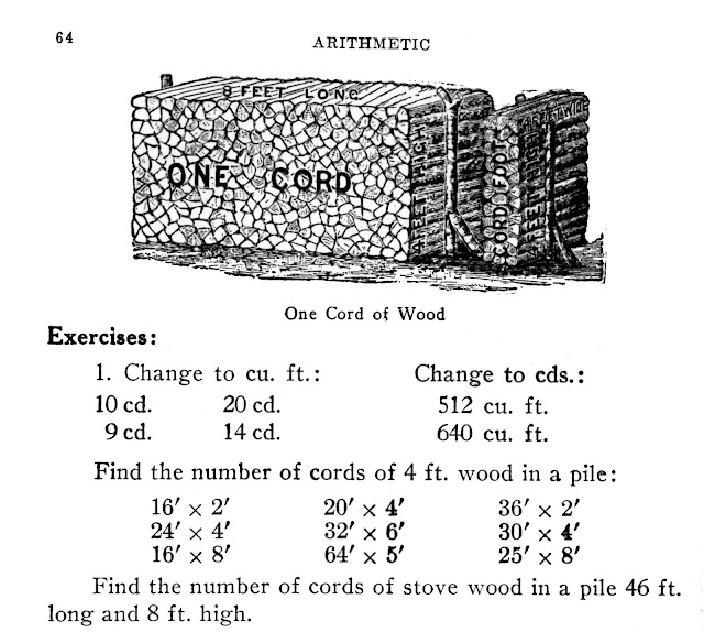what are the measurements of a cord of wood