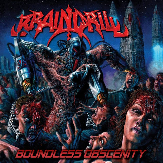 Detail from Brain Drill New Album, Boundless Obscenity, Detail from Brain Drill New Album Boundless Obscenity